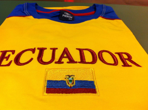 camiseta do equador