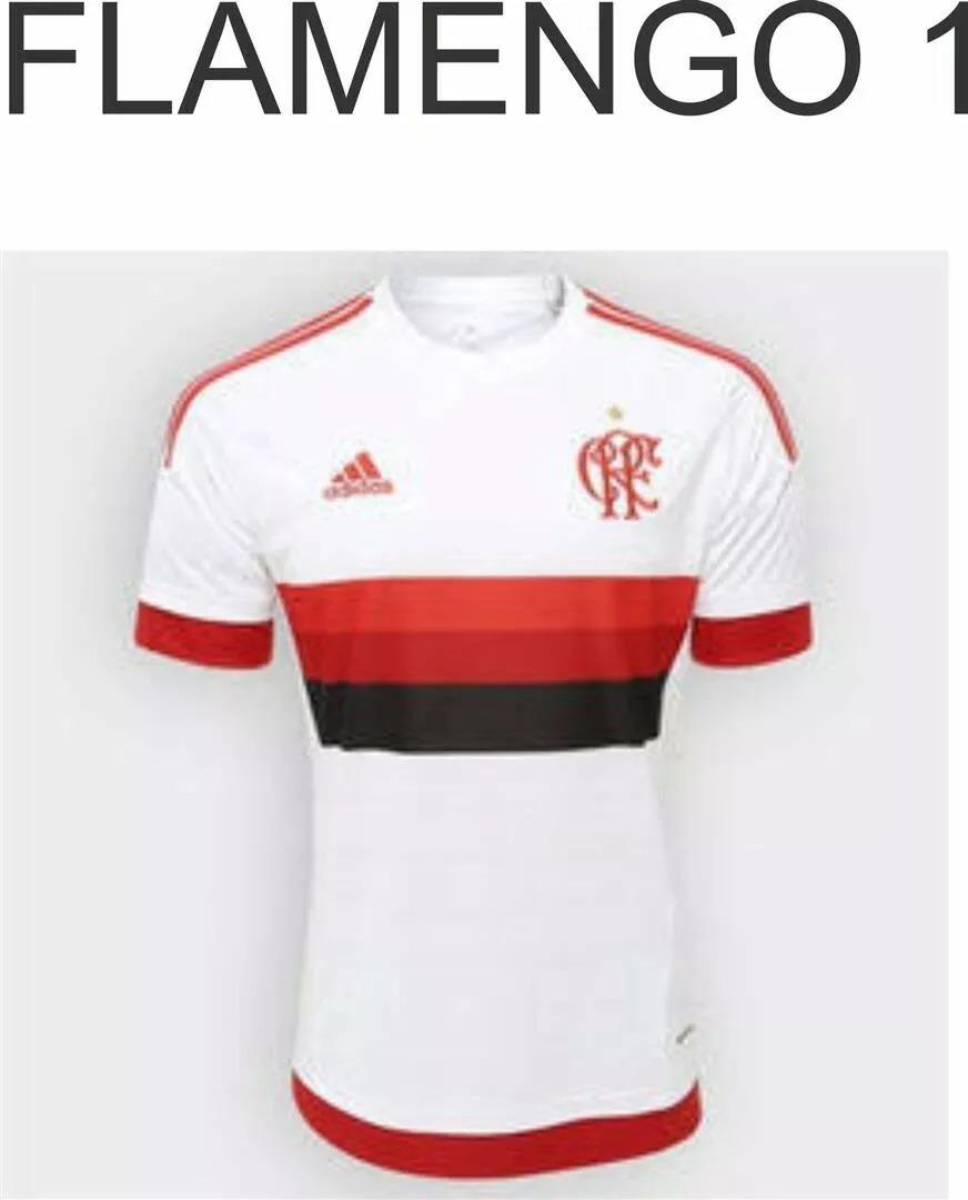cbc1f60b08be5 camiseta do flamengo branca (personalizada). Carregando zoom.