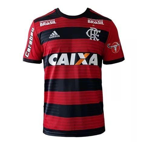 3d0d971457310 Camiseta Do Flamengo Masculina Listrada Modelo 2018 Uniforme - R ...