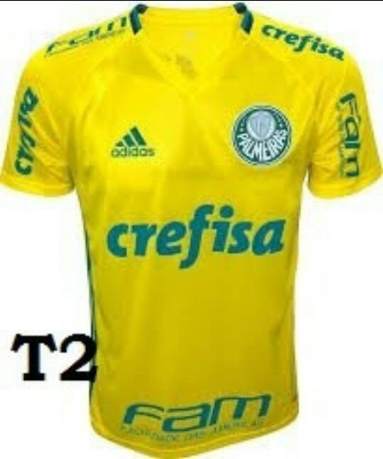 e9ed983738 Camiseta Do Palmeiras De Treino (personalizada) - R  69