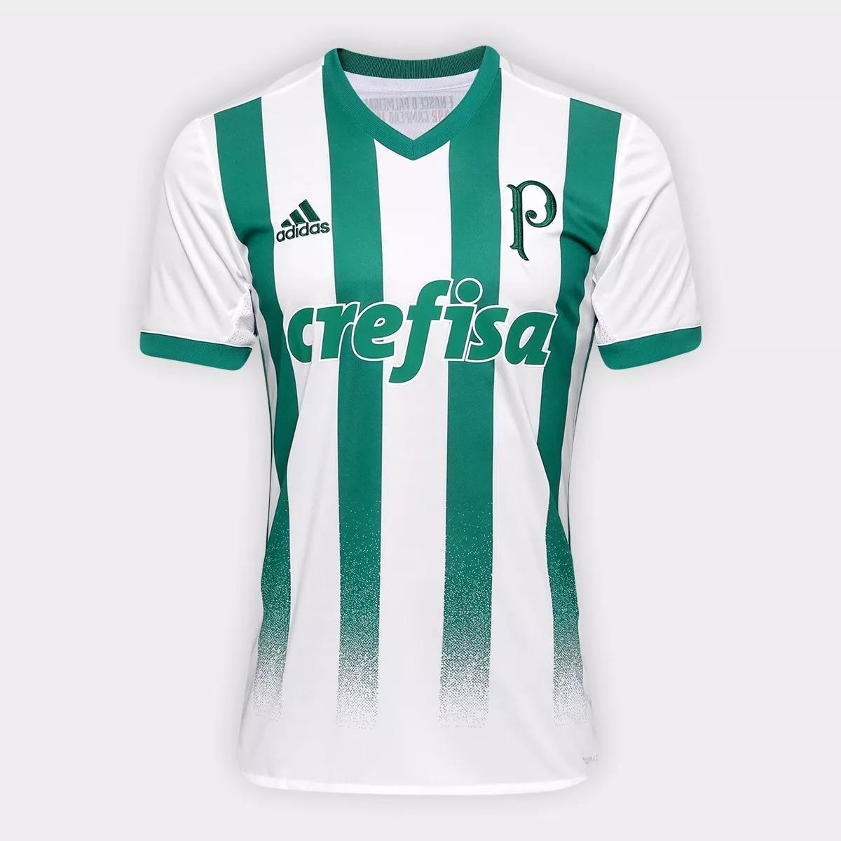 cc9bea64f7 camiseta do palmeiras uniforme 2017 - 2018 promoção. Carregando zoom.