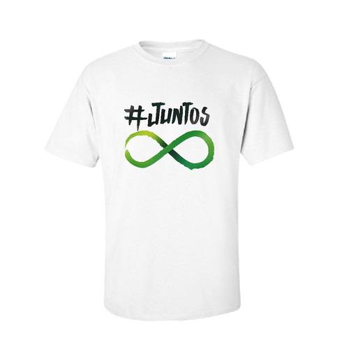 camiseta do projeto #juntos pela doação de órgãos