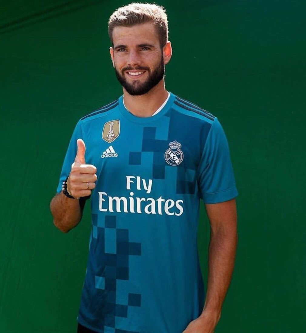 Camisa Do Real Madrid 2018 Azul