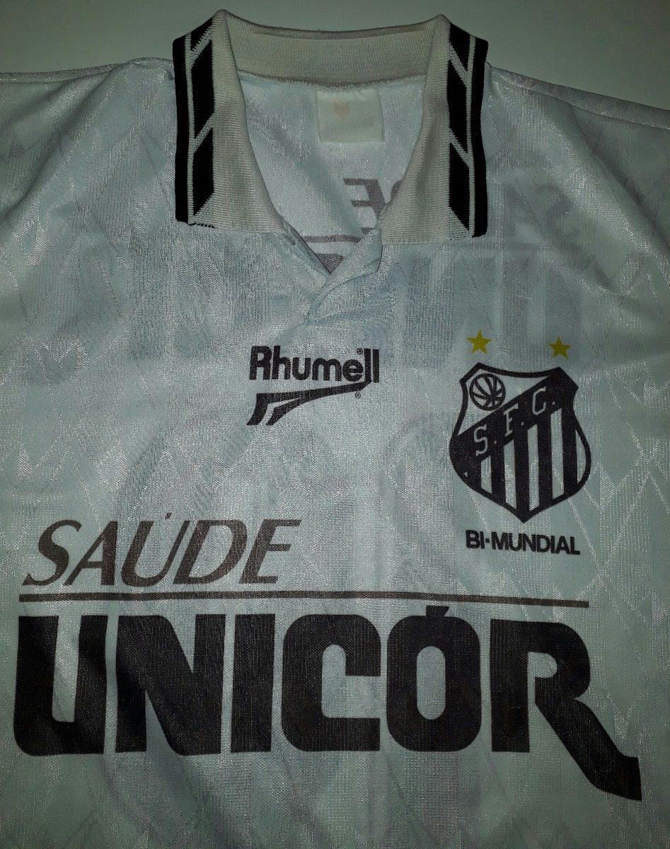 9044b3ed70 camiseta do santos antiga 1996 ótimo estado rhumell - 08. Carregando zoom.