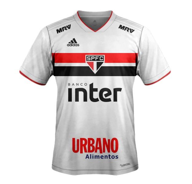 79d8a1486af16 Camiseta Do São Paulo F.c Branca adidas - Modelo 2018   2019 - R  85 ...