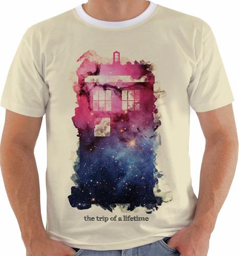 camiseta doctor who - tardis - series m239