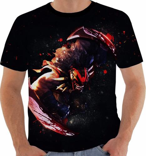 camiseta dota 2 - bloodseeker - games