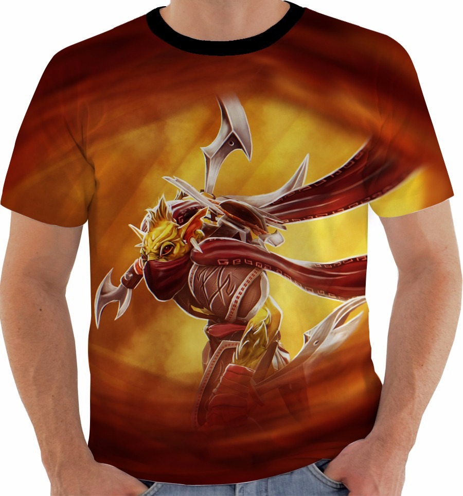 a5ee603c1 Camiseta Dota 2 - Bounty Hunter - Games M383 - R  49