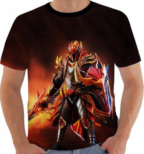 camiseta dota 2 - dragon knight - games m107