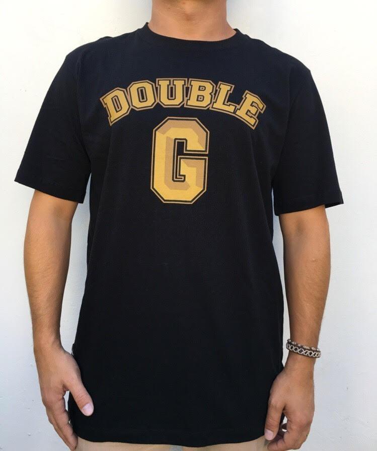camiseta double-g logo gold original hip hop. Carregando zoom. 17ce141446b