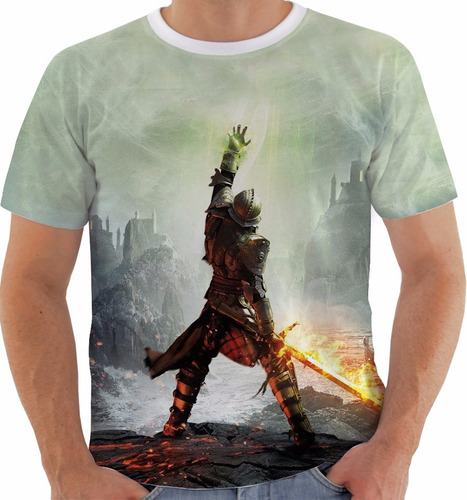 camiseta dragon age inquisition - games m193