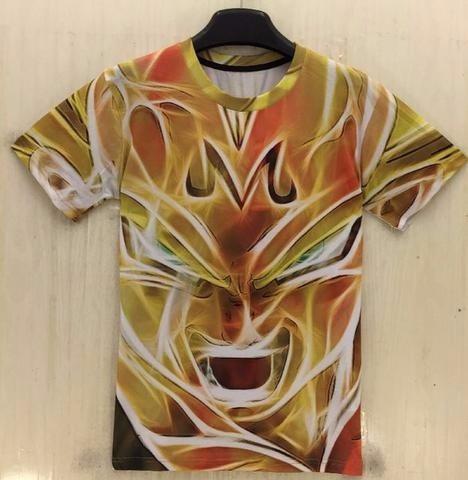 camiseta dragon ball - mayin vegeta xl entrega inmediata
