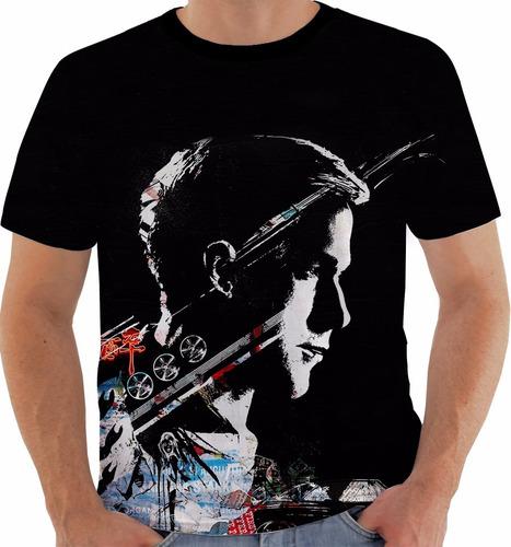 camiseta drive - ryan gosling - movies m240