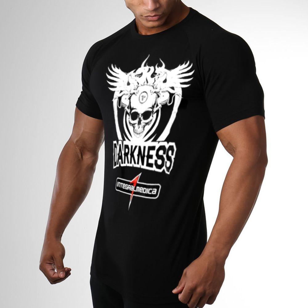 camiseta dry fit integralmedica darkness preta. Carregando zoom. a958f3917d9