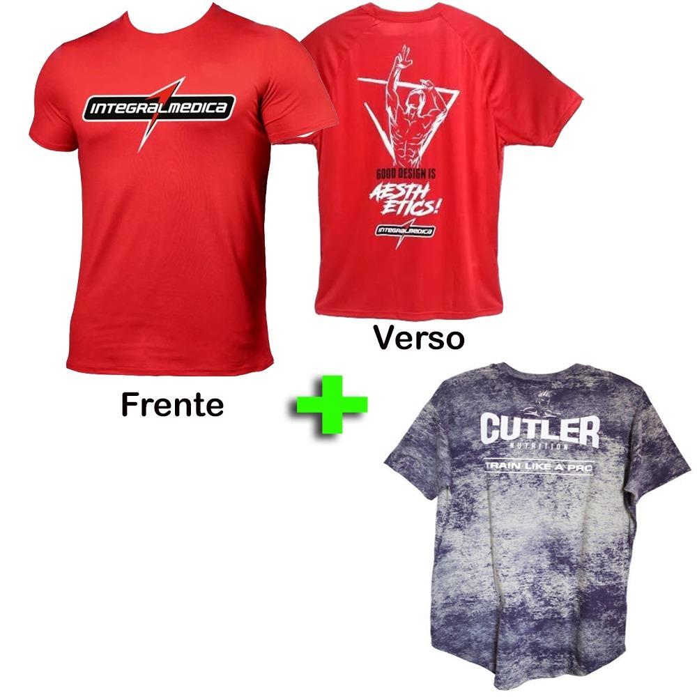 4c8454e53a camiseta dry fit masculina - integralmedica + jay cutler. Carregando zoom.