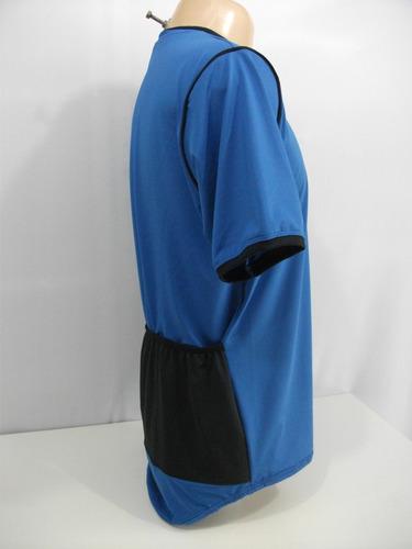 camiseta dry fit modelo ciclista (apropriada para ciclismo)