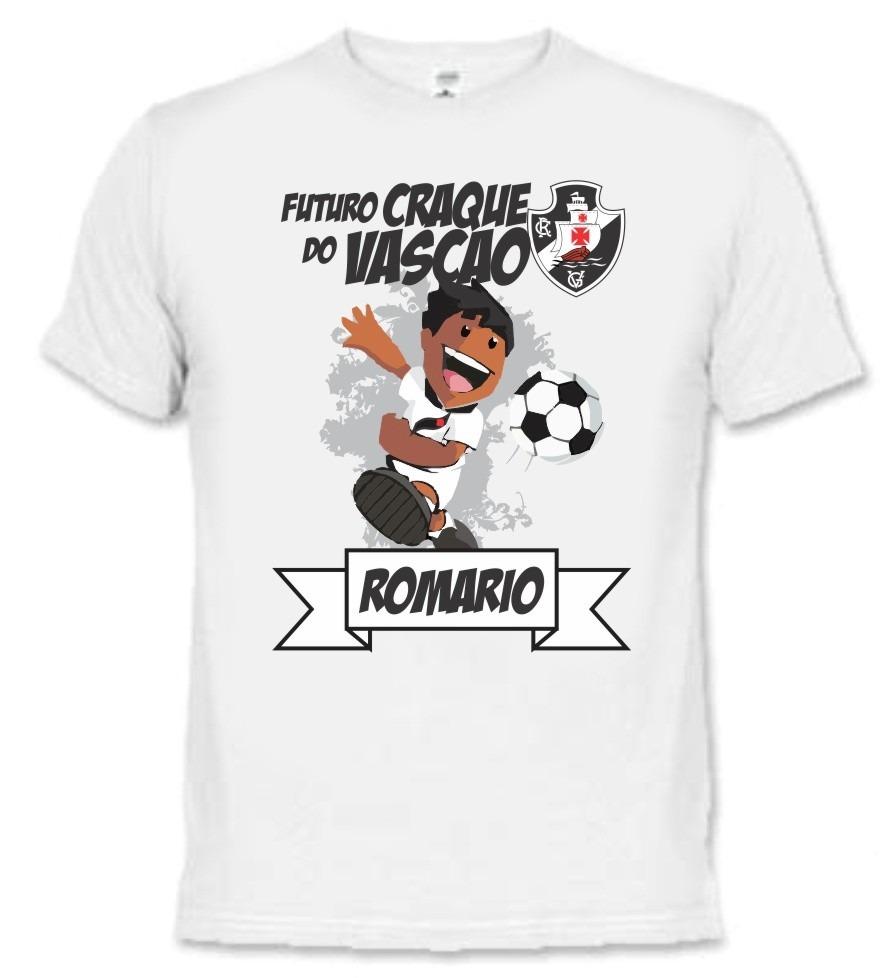 75739f081e4c1 camiseta e body bebê - vasco da gama times - personalizada. Carregando zoom.