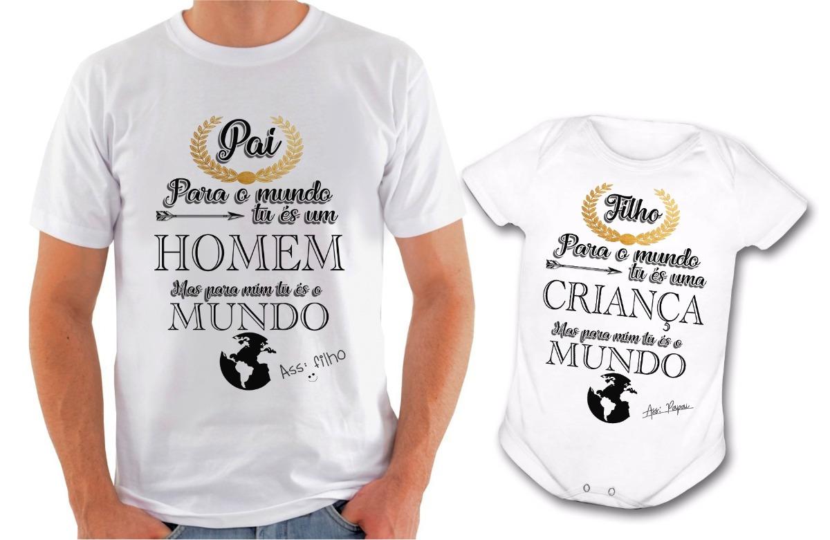 Camiseta E Body Feliz Dia Dos Pais Frases Diferente R 5890 Em