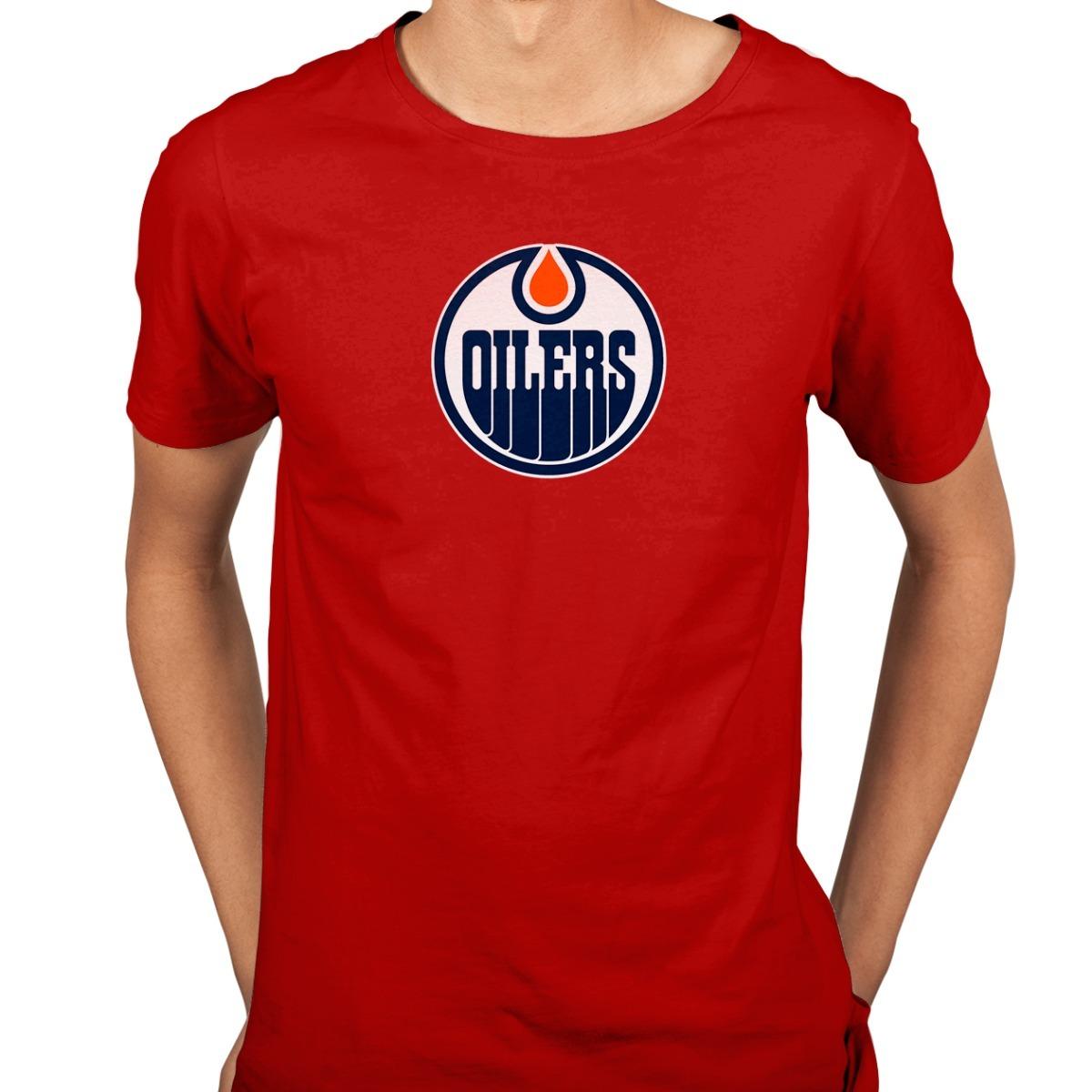 camiseta edmonton oilers nhl hockey no gelo. Carregando zoom. 725da9fdd6a