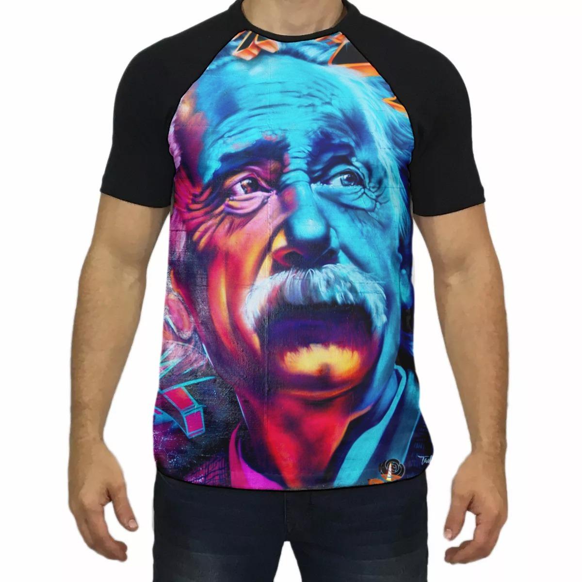 cbd267832 camiseta einstein drop acids. Carregando zoom.
