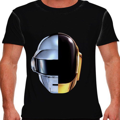 camiseta eletrônica daft punk ram masculina
