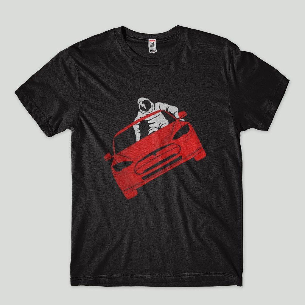 daac4ae34 Camiseta Elon Musk Spacex Astronauta Tesla No Espaco - R  43
