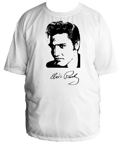 camiseta elvis presley rock anos 50 60 tamanho especial 03