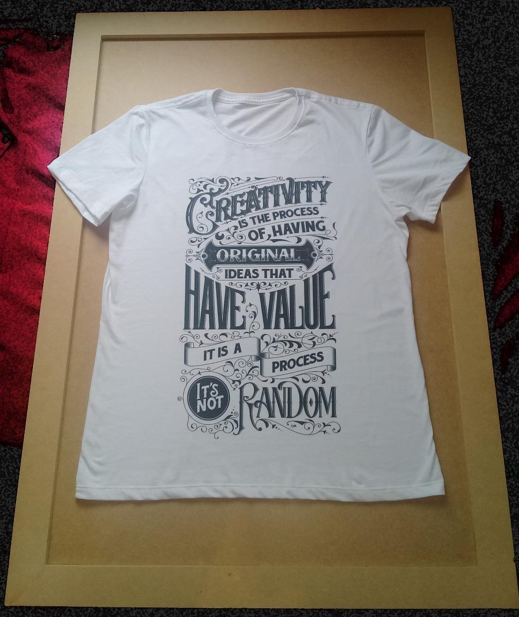 Camiseta Em Tipografia Masculina C  Estampa Digital !!! - R  49 5e2f2848e58da