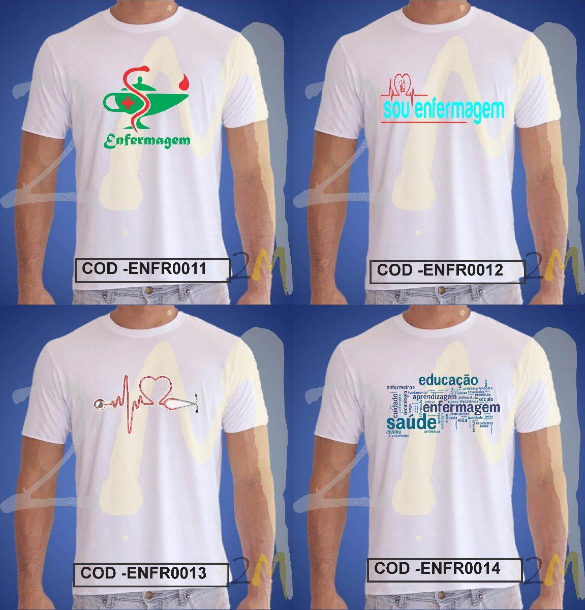 camiseta enfermagem baby look ou camisa faculdade saude. Carregando zoom. 83b281ee320