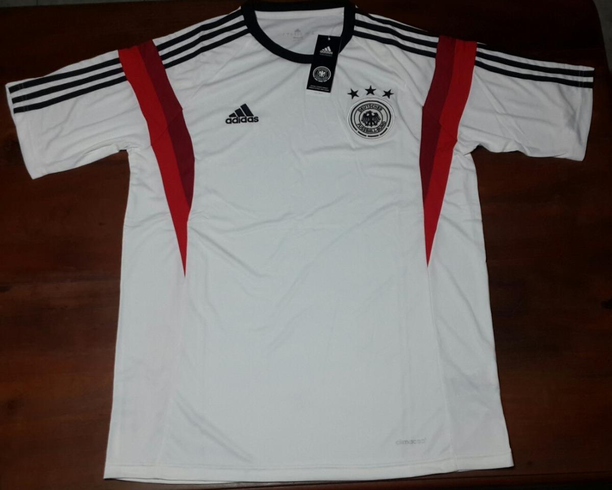 77d315a139bbf Camiseta Entrenamiento Blanca- Seleccion Alemania -   599