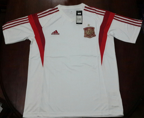 Camiseta Entrenamiento Blanca - Seleccion España -   599 c8698105b33b7