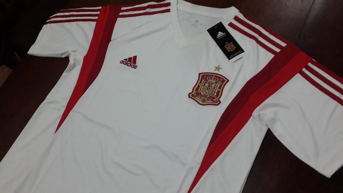 camiseta entrenamiento blanca - seleccion españa. Cargando zoom. 63b4d09009170