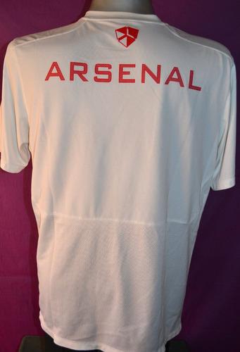 camiseta entrenamiento del arsenal, nike. talle xl