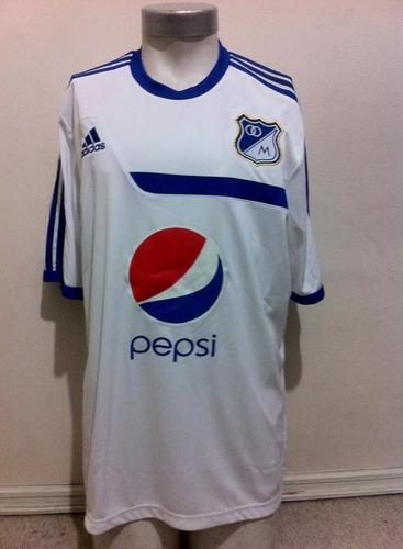 camiseta entrenamiento millonarios de colombia 2015 adidas