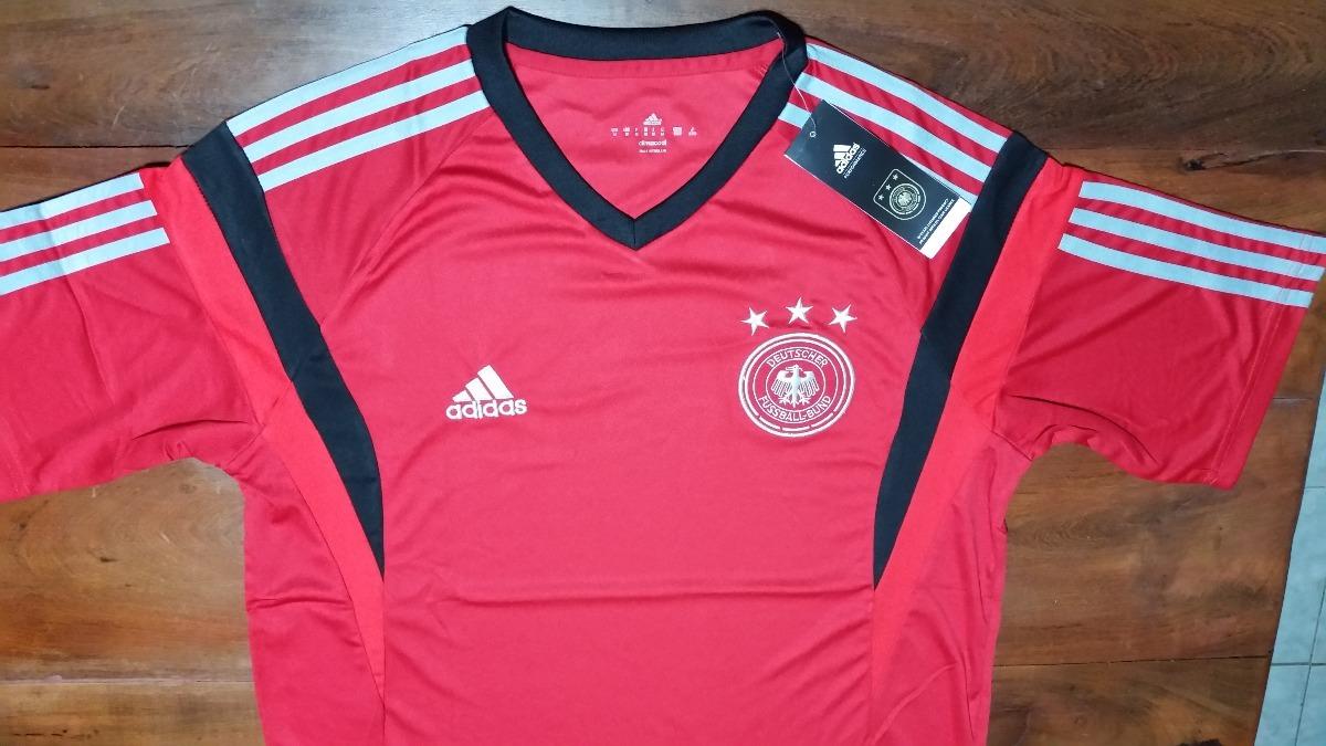 80085f0c44aca camiseta entrenamiento roja - seleccion alemania. Cargando zoom.