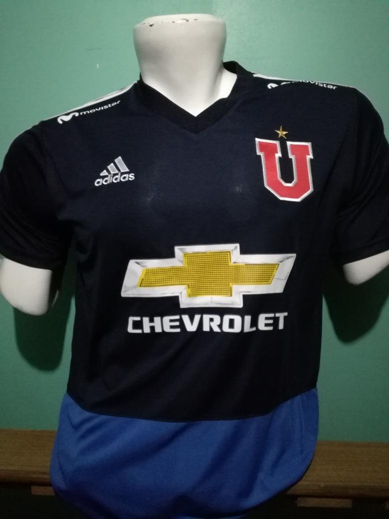 Camiseta Entrenamiento U. De Chile Adulto 2018 15bf057d7aab7