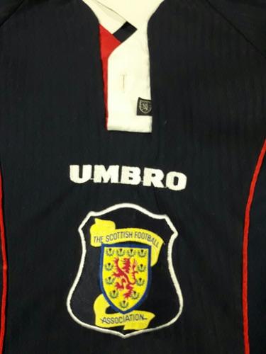 camiseta escocia 1998