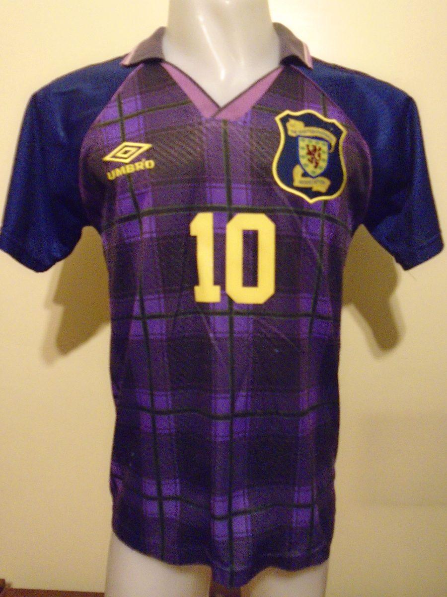 Camiseta Escocia Euro Inglaterra 1996 Mc Allister  10 S- M -   2.200 ... b97ba2cc01c89