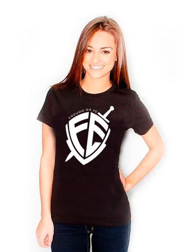 camiseta escudo da fé - a melhor qualidade do mercado!