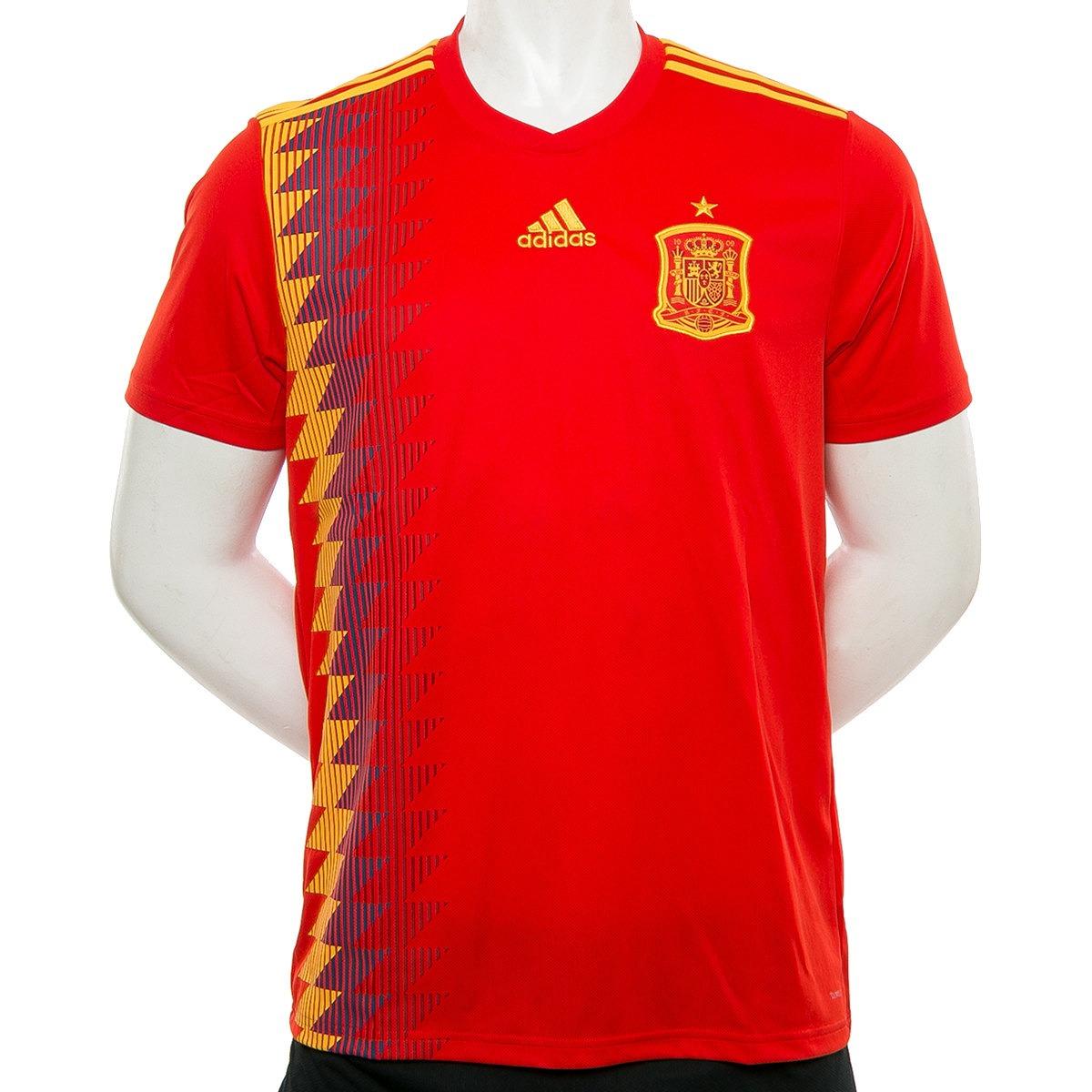 46ff36b88be93 Camiseta España Home Mundial Rusia 2018 adidas Sport 78 -   1.489