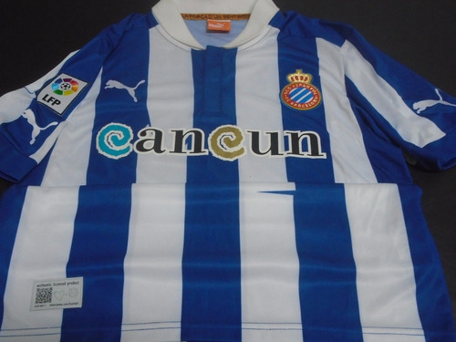 camiseta espanyol barcelona españa 2012 2013 colotto #19 m