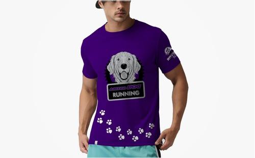 camiseta esportiva ( corrida)