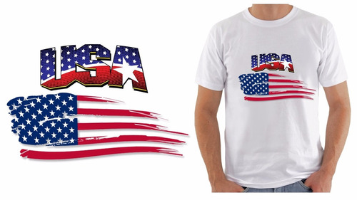 camiseta estados unidos eua usa bandeira flag united states