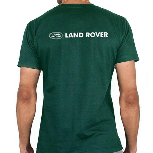 camiseta - estampa land rover - fr001