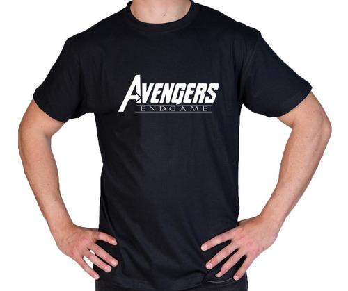 camiseta estampada avengers eg