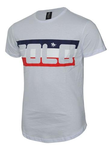 camiseta  estampada em silk polo rg518