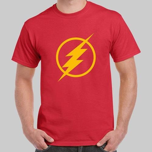 camiseta estampada flash m2