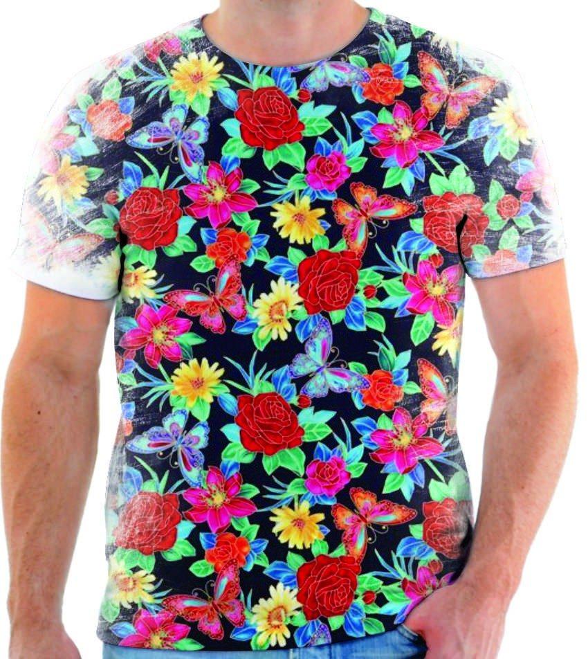 8052ebf0c8ff7 camiseta estampada flor rosas vintage personalizada moda 5. Carregando zoom.