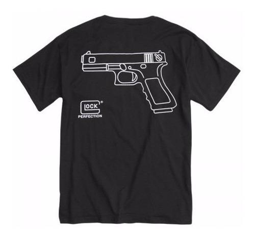 camiseta estampada glock lançamento