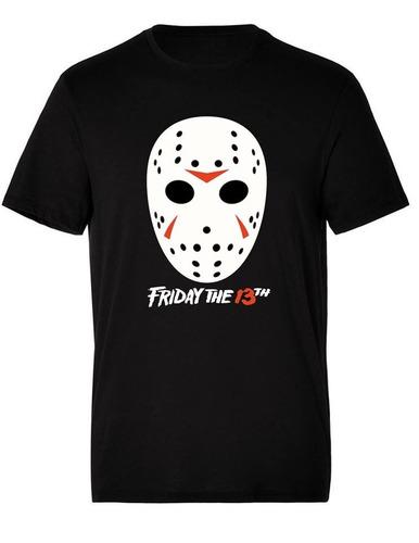 camiseta estampada halloween viernes 13